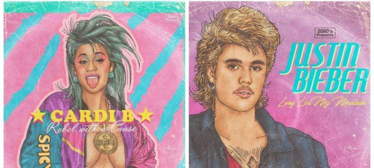 Como seriam os artistas dessa geração se fossem sucesso nos anos 1980?