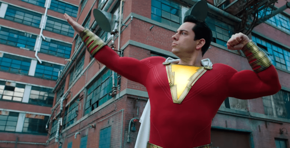 capa do post Liberado o segundo trailer de Shazam!