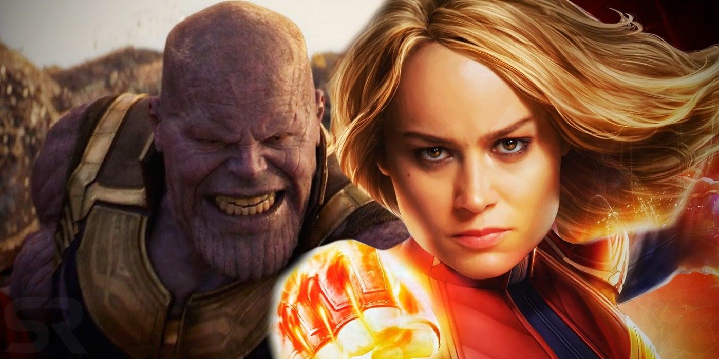 7 poderes que a Capitã Marvel poderia usar para destruir Thanos em Ultimato