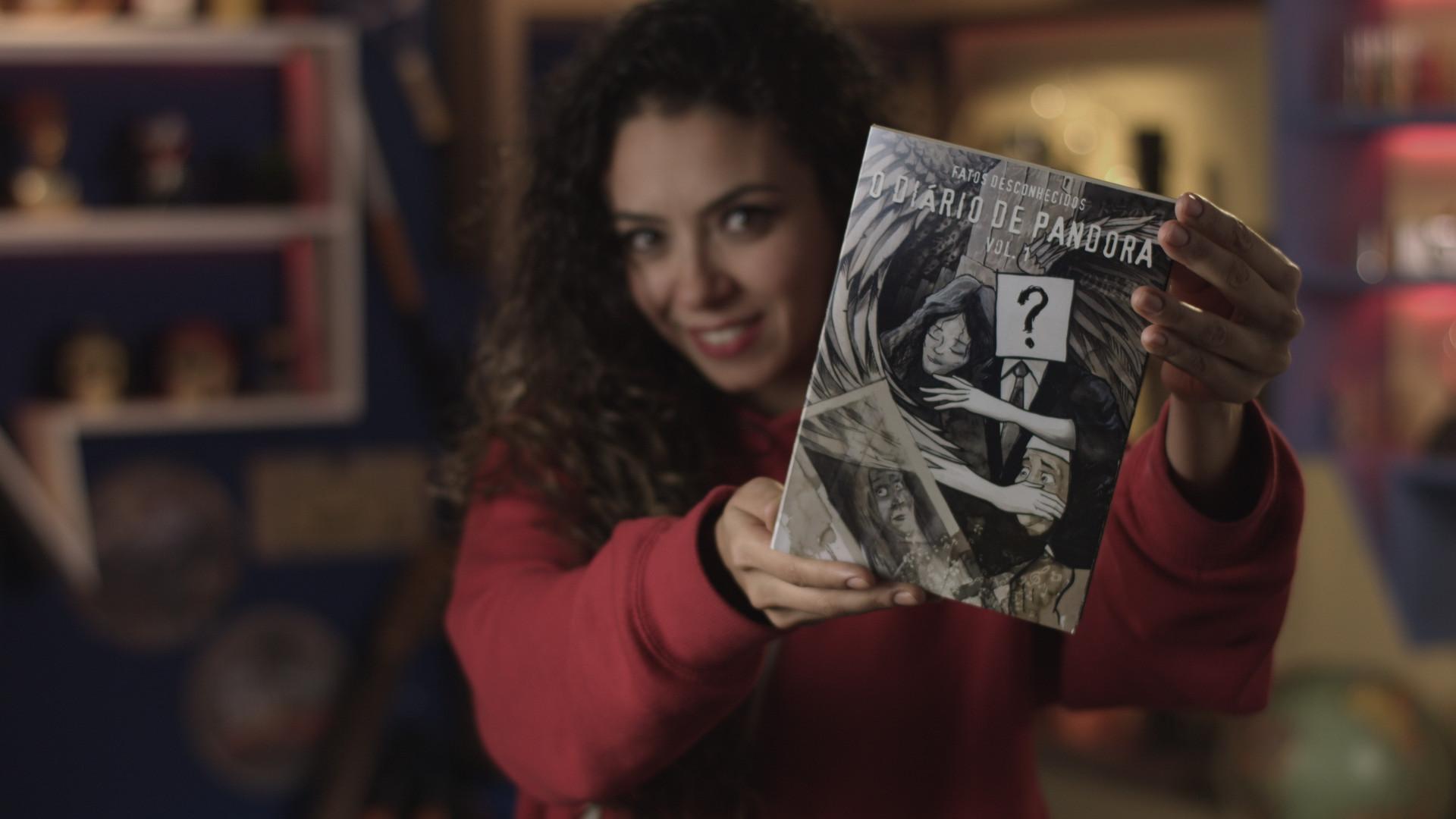 Conheça o Diário de Pandora, o primeiro livro da Fatos Desconhecidos