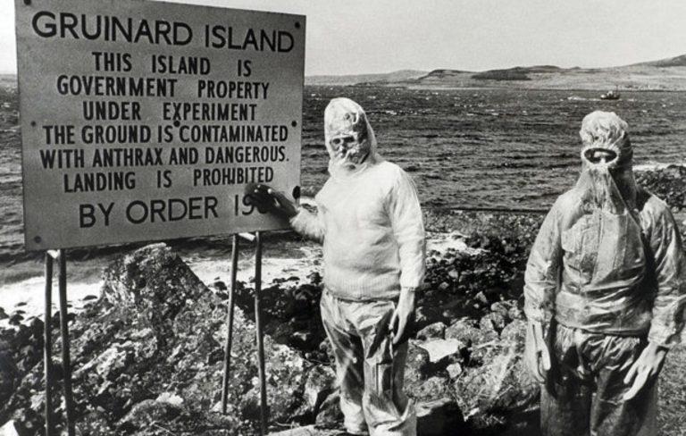 Ilha de Antraz, o lugar conhecido com a ilha da morte