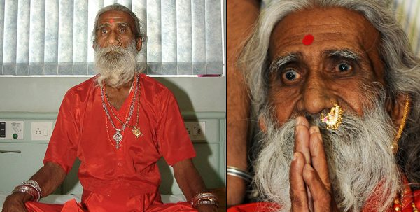 A história do indiano que ficou em jejum por 70 anos