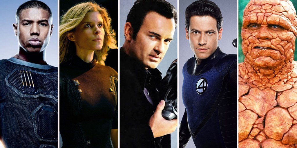 Fantastic Four Actors 1024x512, Fatos Desconhecidos