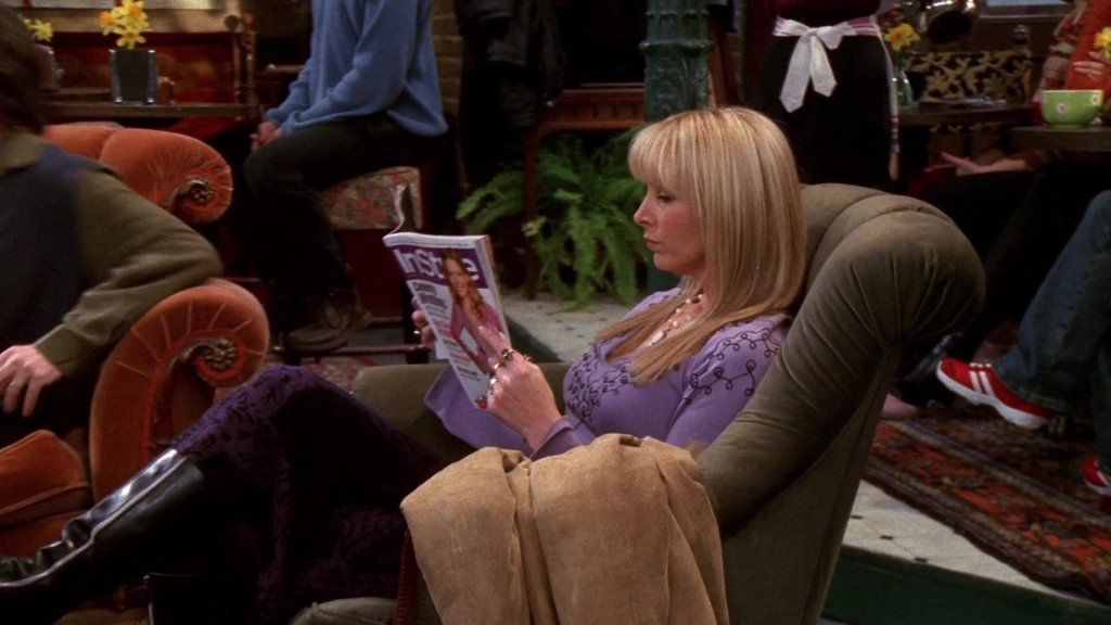 InStyle Magazine Held By Lisa Kudrow Phoebe Buffay In Friends 1 1024x576, Fatos Desconhecidos