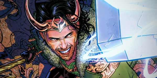 Loki With Mjolnir Comic Art 600x300, Fatos Desconhecidos