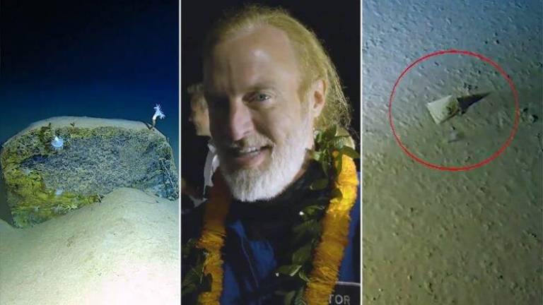 Submarino bateu recorde chegando ao fundo da Fossa das Marianas