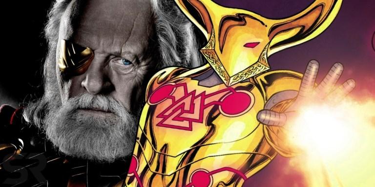 Odin ganha armadura poderosa feita pelo Homem de Ferro