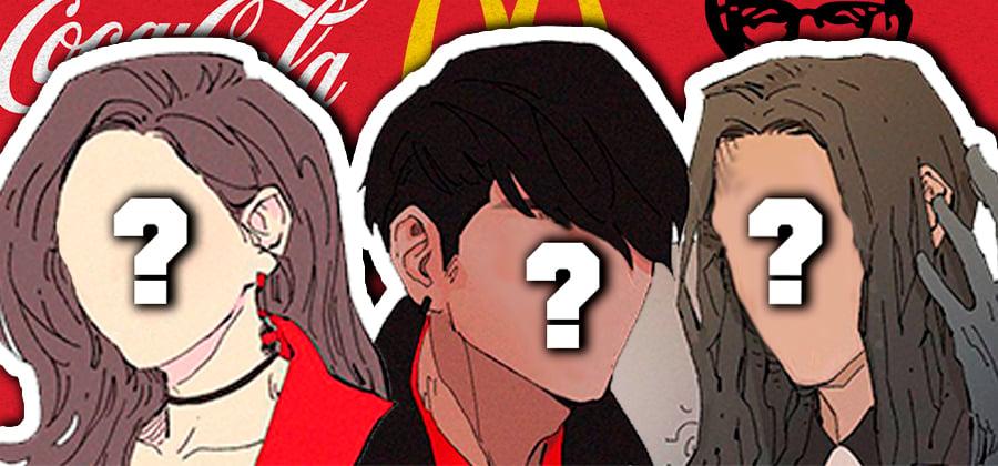 Como seriam as marcas famosas se fossem personagens de anime?