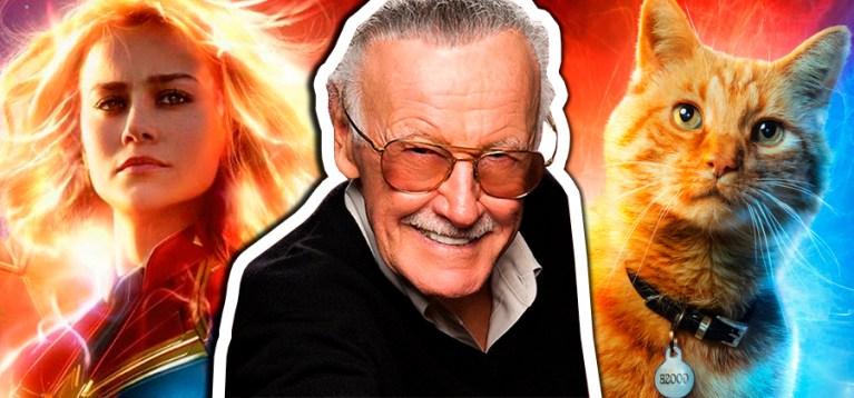 Marvel divulga online abertura de Capitã Marvel com homenagem a Stan Lee