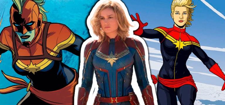 Artista revela visual descartado para a Capitã Marvel