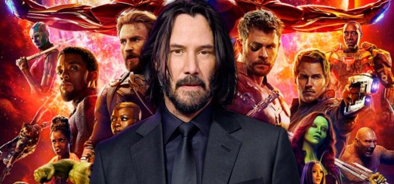 Marvel confirma a possibilidade de introduzir Keanu Reeves no MCU