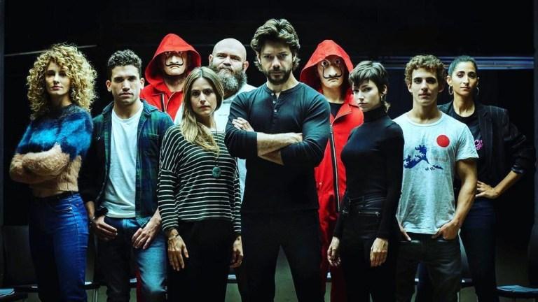 Novo trailer de La Casa de Papel declara guerra ao sistema