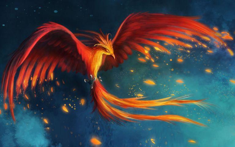 A lenda de Fênix, o poderoso pássaro da mitologia grega