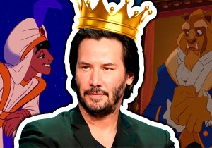 imagem post 9 príncipes da Disney reimaginados como Keanu Reeves