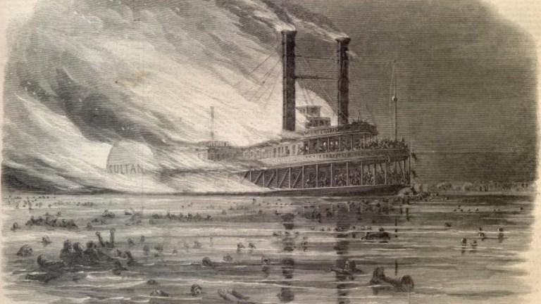 A explosão de Sultana, o pior desastre marítimo da história norte-americana