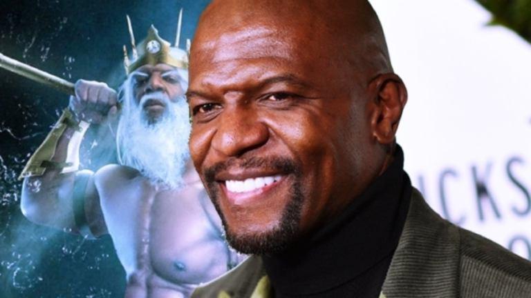 Terry Crews sabe que seria o Tritão perfeito no filme da Pequena Sereia