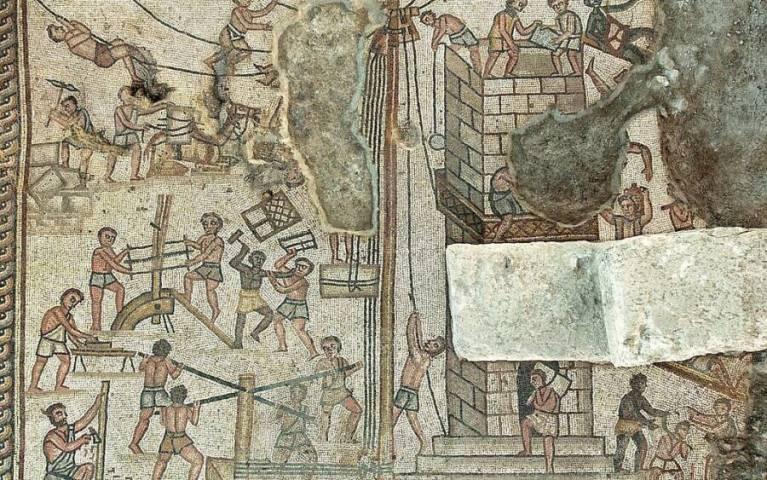 Mosaico bíblico do século 5 é descoberto e descreve todo o fim do mundo