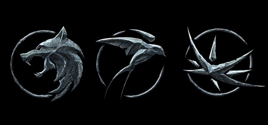 O que significam os símbolos dos personagens em The Witcher?