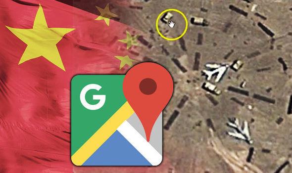 Alguém descobriu uma Área 51 da China