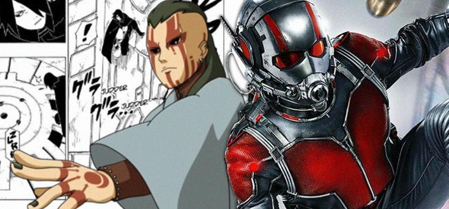 Jigen mostra habilidades do Homem-Formiga em Boruto