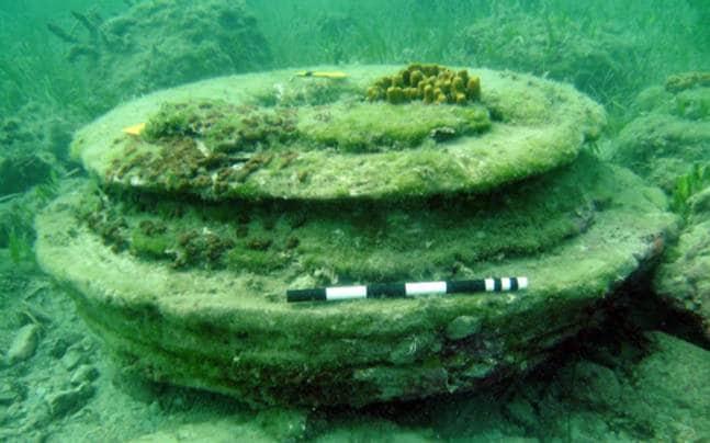 Estudo sugere que 'cidade subaquática' não foi construída por humanos