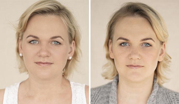 15 imagens que mostram mulheres antes e depois de dar à luz