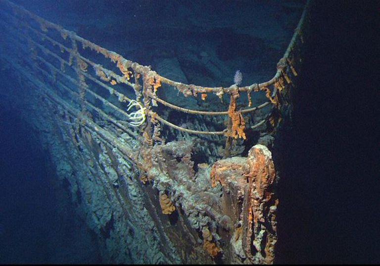 As imagens inéditas do Titanic 14 anos após a última visita realizada