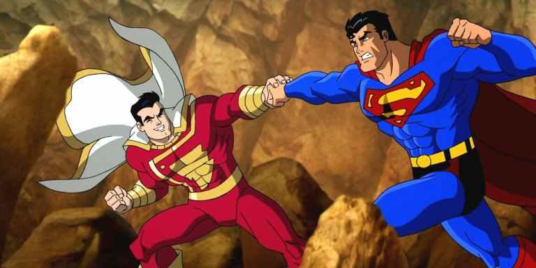 DC mostra porque o Superman não pode vencer o Shazam
