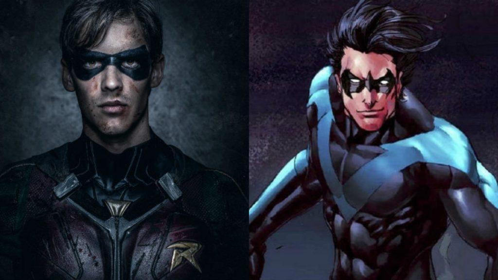 Titans Season 2 Set Photo Reveals Brenton Thwaites As Nightwing 1280x720 1024x576, Fatos Desconhecidos