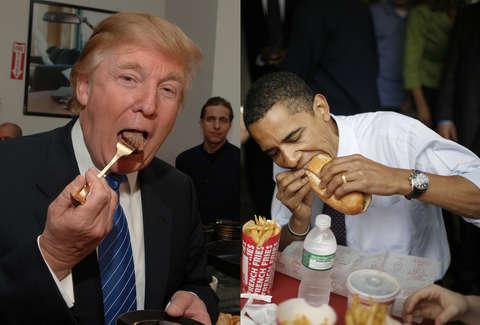 O que 7 dos maiores líderes do mundo gostam de comer?