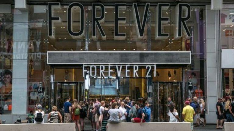 Por que a Forever 21 está caminhando para a falência?