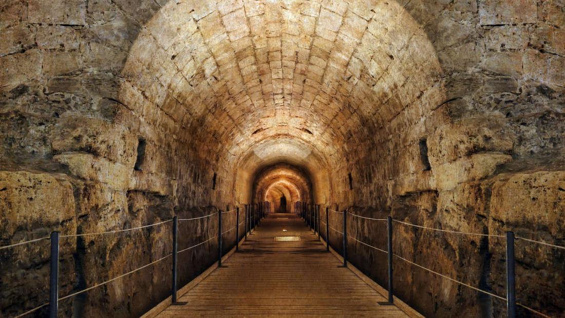 Descobertos túneis secretos da Ordem dos Templários em Israel