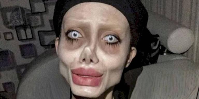 """""""Angelina Jolie Zumbi"""" é presa no Irã"""
