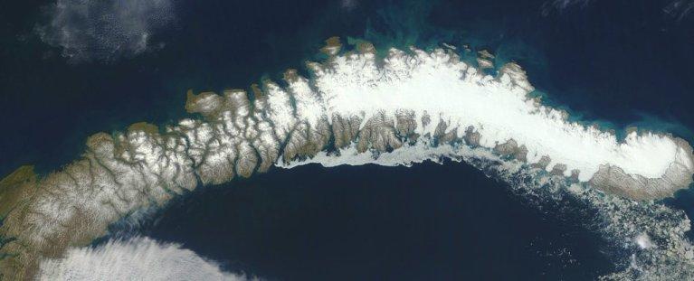 Cinco novas ilhas são descobertas com o descongelamento do gelo do Ártico