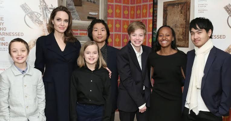 Como estão os 6 filhos da Angelina Jolie e Brad Pitt hoje em dia?