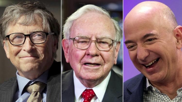 7 homens mais ricos do mundo em 2019