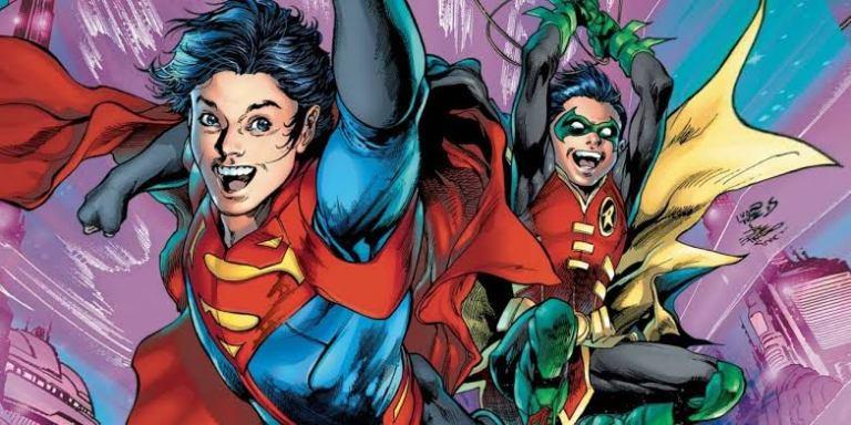 Rumores indicam que filho do Batman estará em nova série do Superman