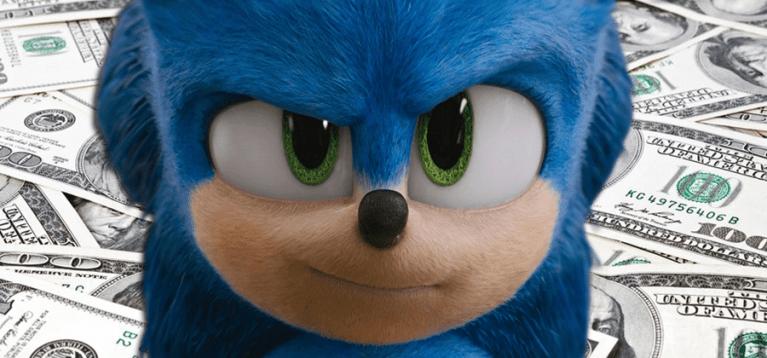 Quanto a mudança de visual do Sonic custou para o estúdio?