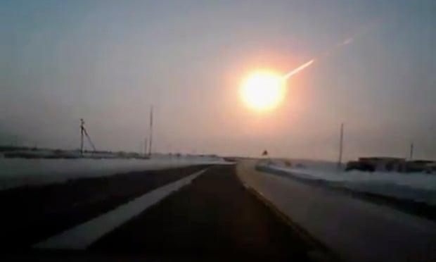 Explosão de meteoro na Rússia é 10 vezes maior do que a de Hiroshima