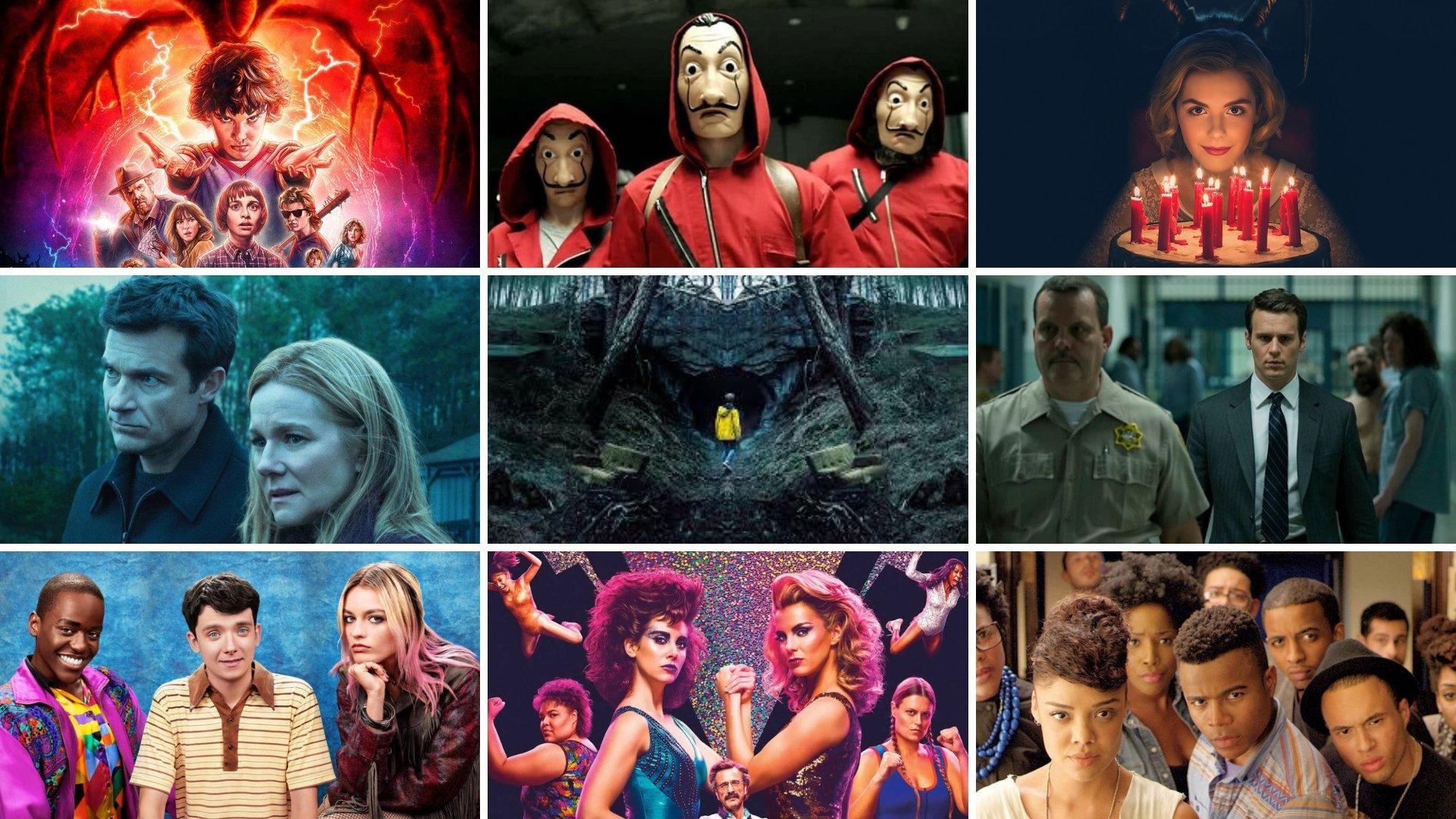 Estas foram as séries de streaming mais assistidas do ano