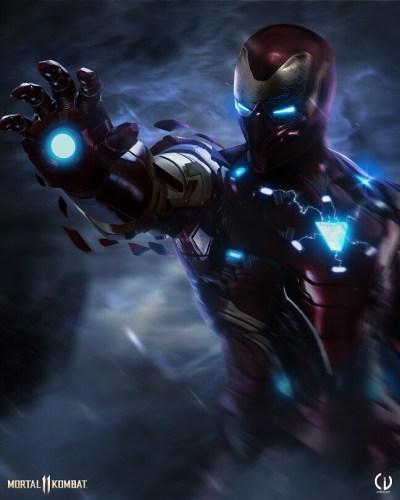 Camille Vialet Mortal Kombat Iron Man 400x500, Fatos Desconhecidos