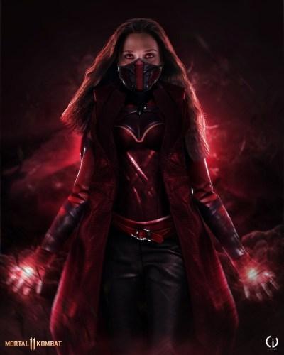 Camille Vialet Mortal Kombat Scarlet Witch 400x500, Fatos Desconhecidos