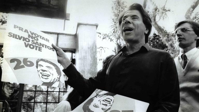 Relembre quando Silvio Santos quis ser presidente do Brasil