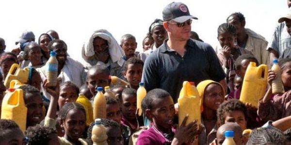 Matt Damon Water Foundation 600x300, Fatos Desconhecidos
