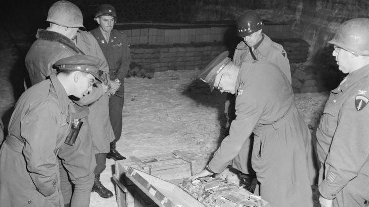 Conheça a história do tesouro nazista encontrado por soldados americanos