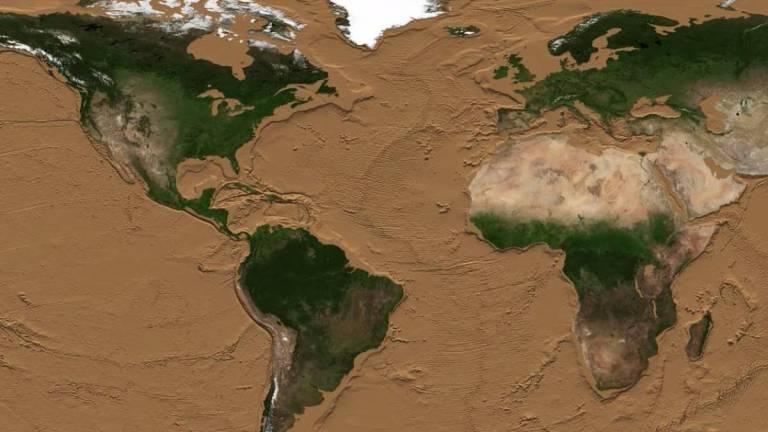 """Conheça as """"pontes terrestres"""" que estão escondidas no oceano"""