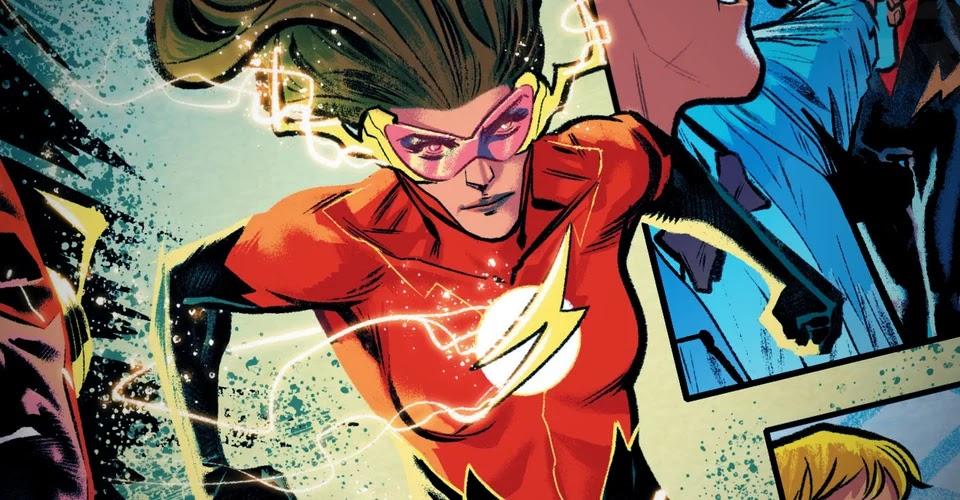 Iris West se torna uma velocista em nova HQ do Flash