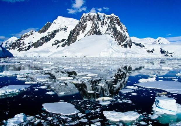 A Antártida atingiu a maior temperatura registrada da história