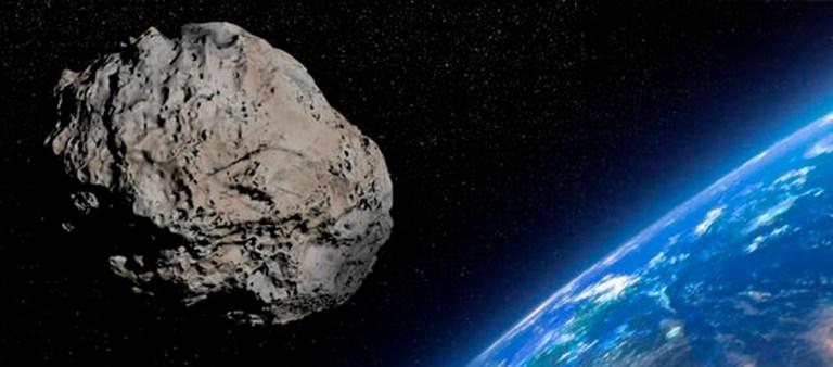 Asteroide passou pelo nosso planeta em uma distância mais perto do que a lua