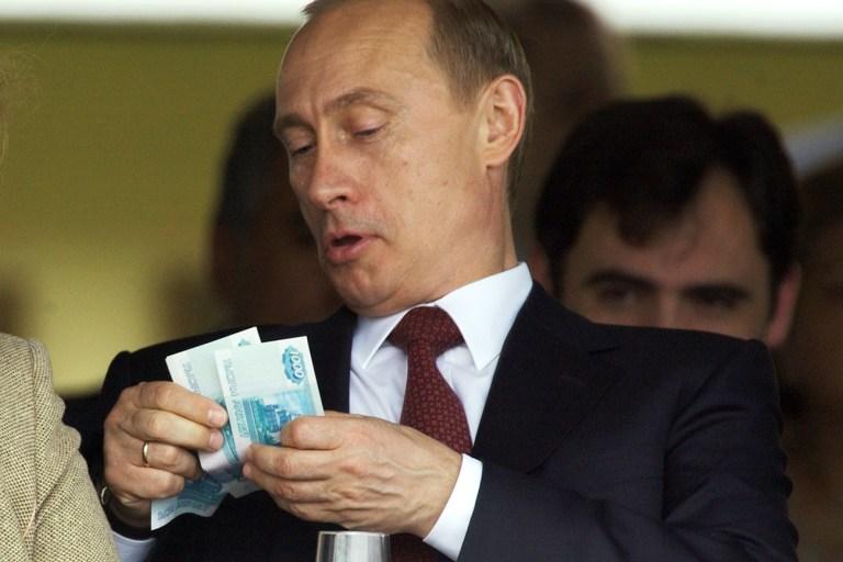 Vladimir Putin pode ser secretamente o homem mais rico do mundo